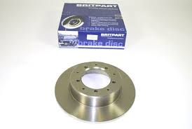 Landrover parts - rear solid brake disc - Britpart Brand